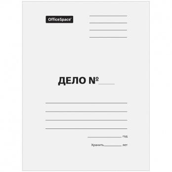"""Обложка """"Дело"""" белая 380 г/м2  А-РD36 -352"""