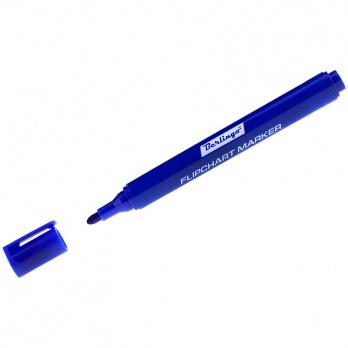 Маркер д/флипчарта синий пулевидный 2мм BMF_02202