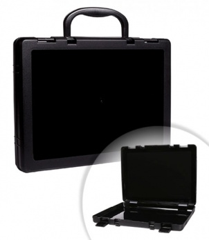 Портфель-кейс черный КС10