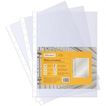 Папка-файл вкл. А4 100шт/уп. 30мкм гладк.   ПВ_30ГЛ
