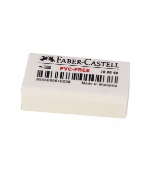 "Ластик Faber-Castell ""Pvc Free"", прямоугольный, 31*16*11мм"