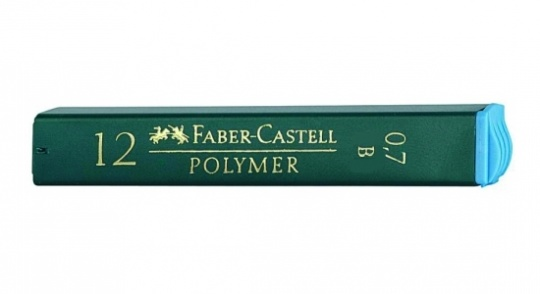 "Грифели д/каран. 0,7мм В ""Polymer""  FC521701"