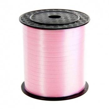 Лента декор. розовая 5мм*500м  ЛД-1962