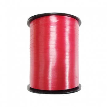 Лента декор. красная 5мм*500м  ЛД-1966
