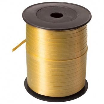 Лента декор. золотая 5мм*500м  ЛД-1971