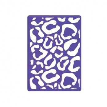 Трафарет для теснения Леопард А4 FD090033