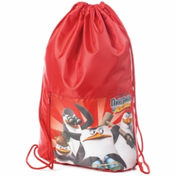 "Сумка д/смен. обуви 2 отд. ""Пингвины из Мадагаскара"" NMn_20273"