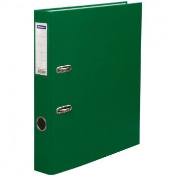 """Регистратор А4 50мм зеленый бумвинил, с карманом """"Office Space""""  162571"""