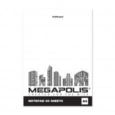 """Скетчбук 60л на склейке """"Megapolis Blank""""  ЕК 49797"""