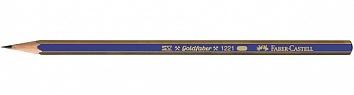 """Карандаш ч/г """"Goldfaber 1221"""" 3Н шестигр., корп. син. с пол.  FC 112513"""