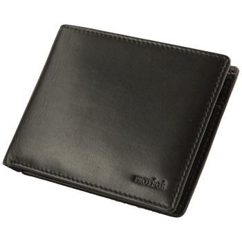 Бумажник Protege натур кожа черн..2отд д/купюр,отд д/мелочи   861041