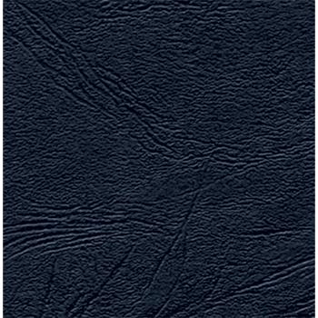Подложка картон/кожа (А4) черный 100шт.