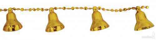 Бусы Колокольчики, 550см (золот.)  21322