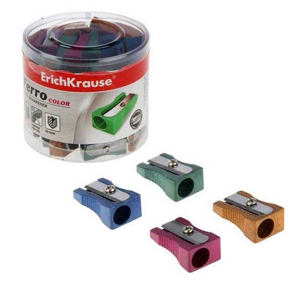 Точилка 1 отв. метал. Ferro Color  ЕК 38014