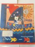 "Тетрадь 12л. лин. ""Джинсы и игрушки-1"" офсет/обл мел. 2 вида Т12МБ06/1 029"