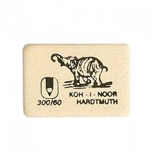 "Ластик каучук. для ч/г кар. ""Elephant"" 300/60 белый 32*18*8мм"